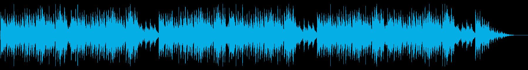 童謡「雪」シンプルな琴のアレンジの再生済みの波形