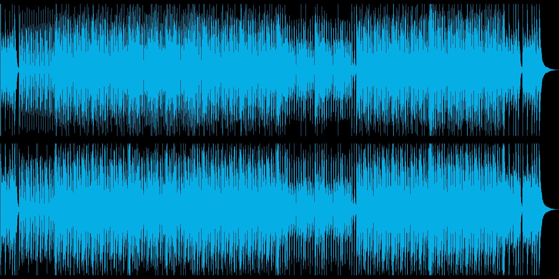 二胡がメインのたのしげな中華風テクノの再生済みの波形