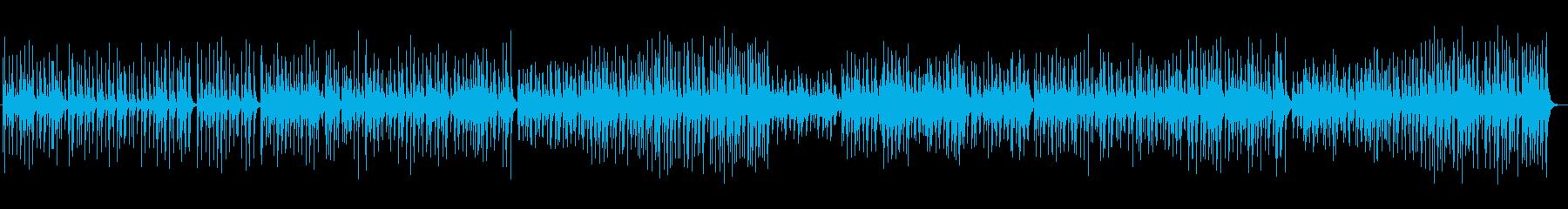 和風の旋律が特徴の楽曲の再生済みの波形