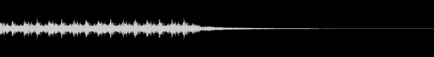 手拍子+太鼓(応援団風)の未再生の波形