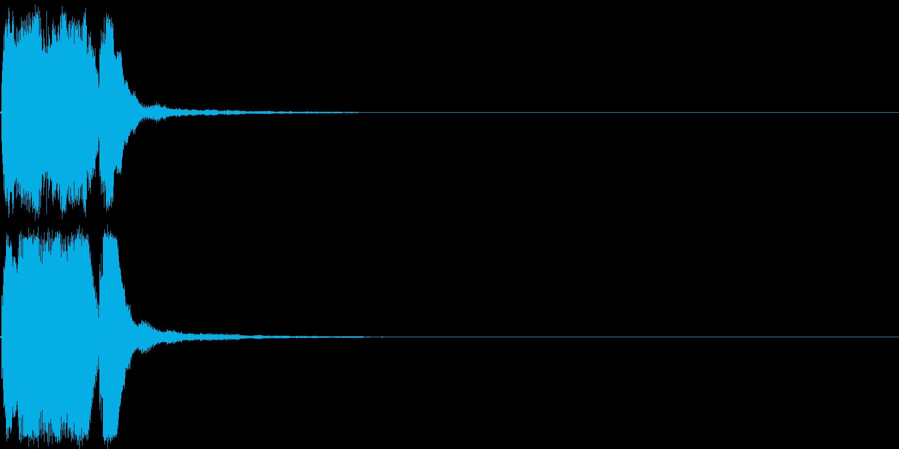 ファンファーレ 当たり 正解 合格 04の再生済みの波形