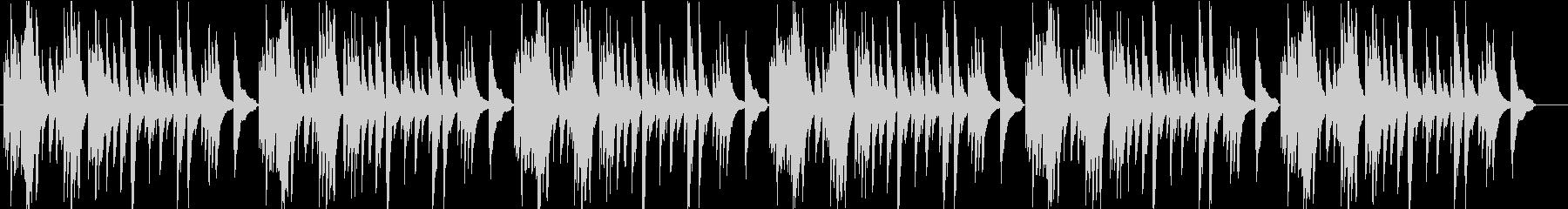 アコギで一本で静かにの未再生の波形