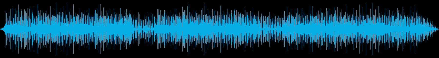 淡々としたテクノの再生済みの波形