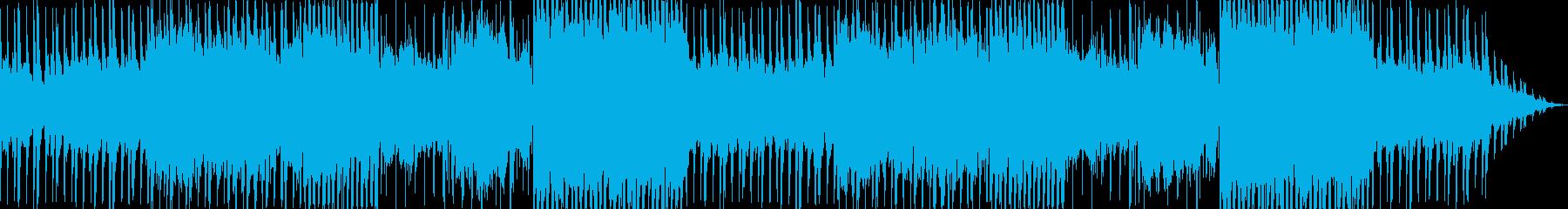 少しダークめなダンスミュージックの再生済みの波形