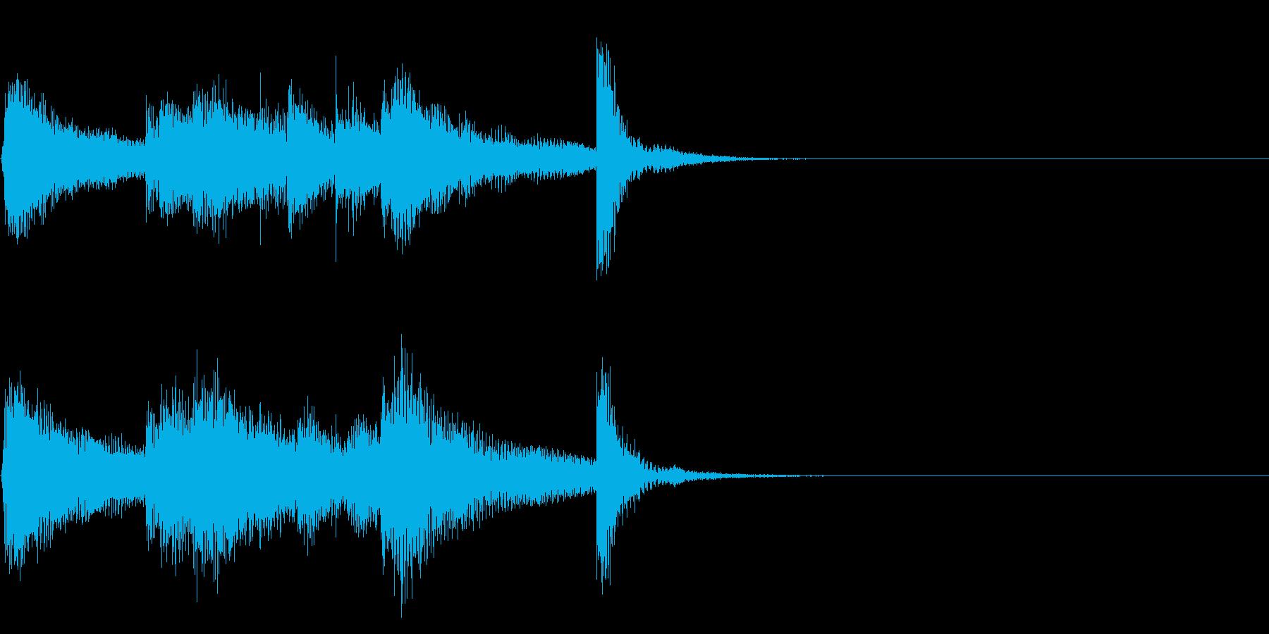 インド風アイキャッチ☆ジングル1の再生済みの波形