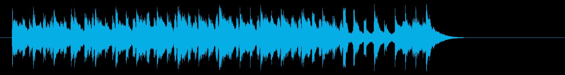 牧場のメルヘンなポップス(サビ)の再生済みの波形