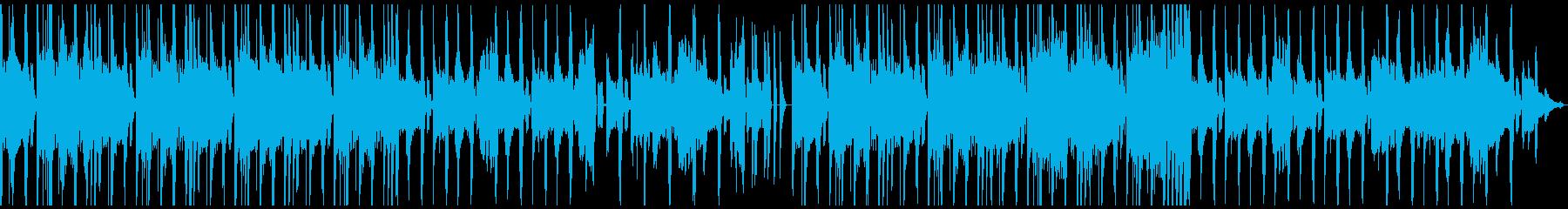 サイバーパンク系ゲームに合うBGMですの再生済みの波形