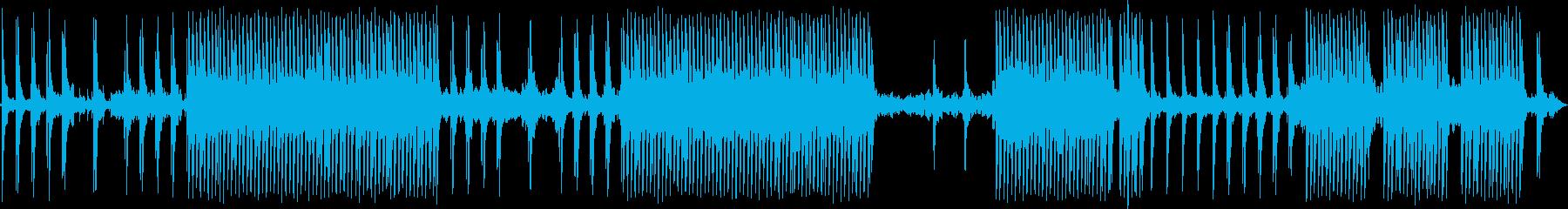 コマーシャル用の音楽の再生済みの波形