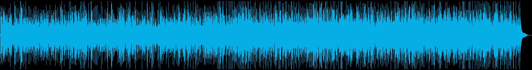 レトロ感あふれるオールドタイムフォークの再生済みの波形