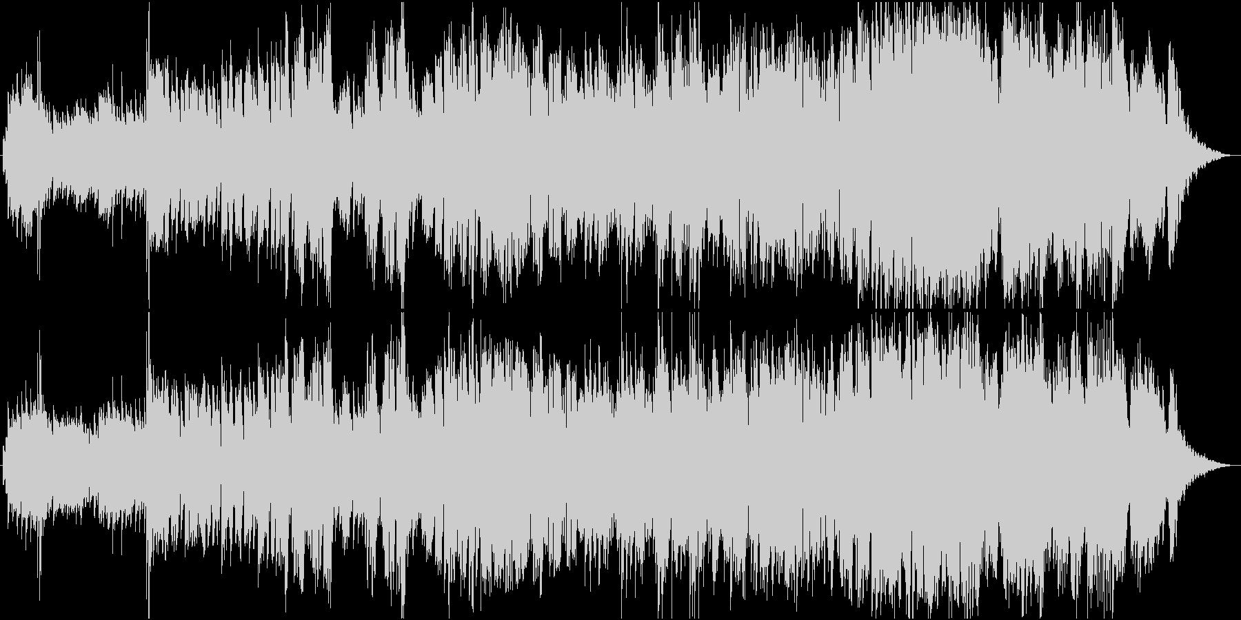 切ないイメージの幻想的なバラードの未再生の波形