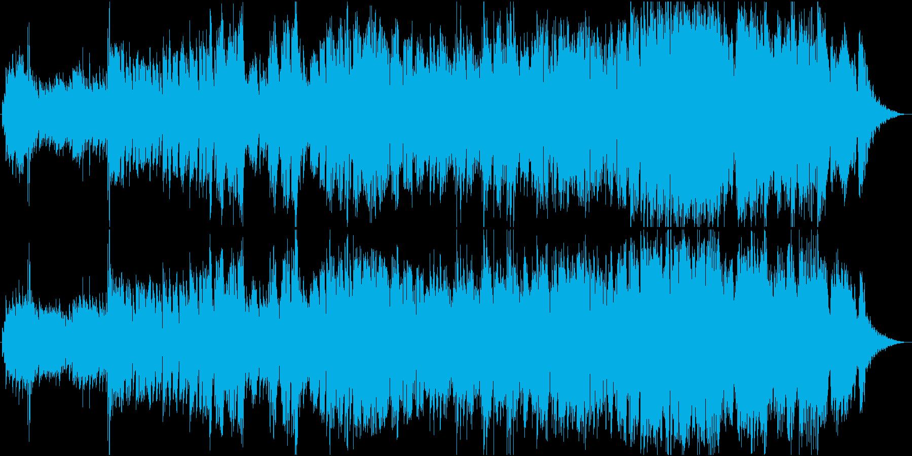切ないイメージの幻想的なバラードの再生済みの波形