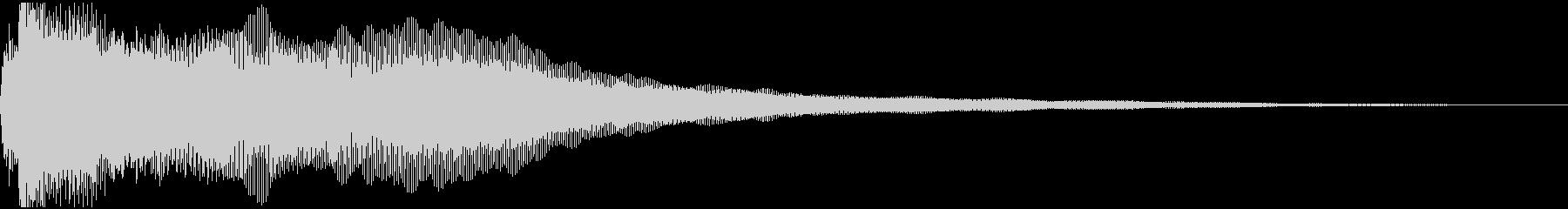 渦巻くアンビエントシンセは、まばら...の未再生の波形