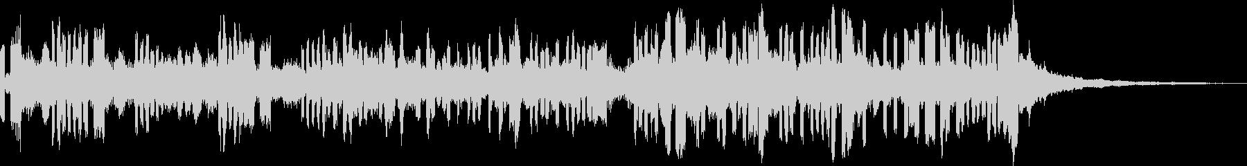 28秒ソング EDM 空間とスピードの未再生の波形