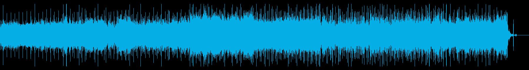 静かに忍び寄るアンビエントの再生済みの波形