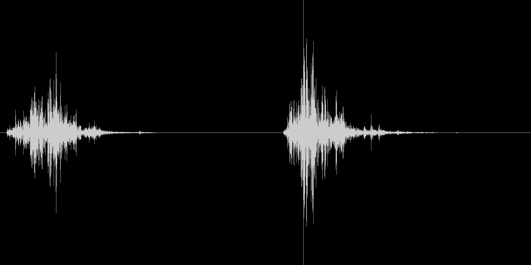 シャカシャカ(サプリを出す音)の未再生の波形