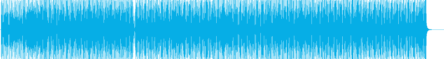 キュートでお洒落ピアノポップ★料理・動画の再生済みの波形