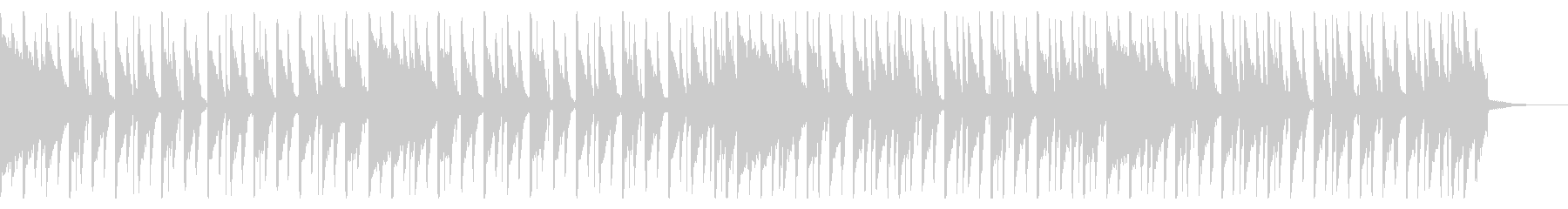 125 BPMの未再生の波形