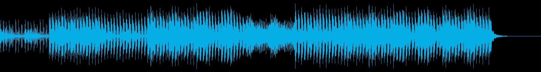 おしゃれ・キャッチー・EDMの再生済みの波形