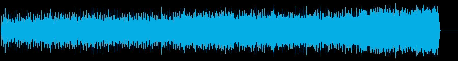 躍動感みなぎるダイナミックなハードロックの再生済みの波形