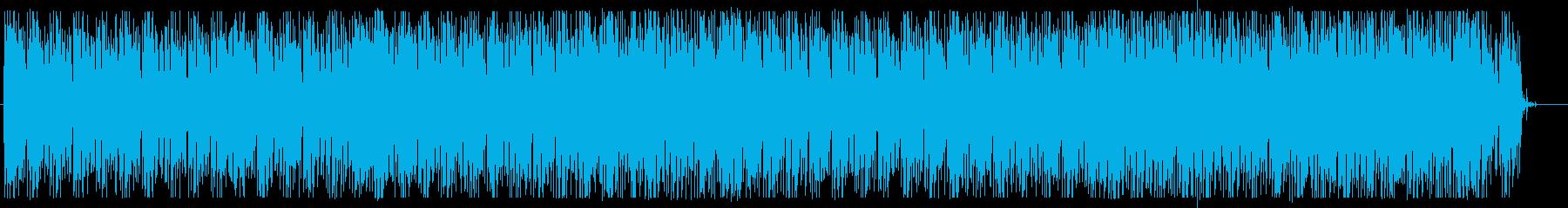 テクノロジー エレクトロ プレゼン 広告の再生済みの波形