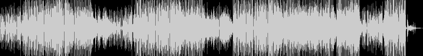 シャイな雰囲気・ほんわかしたジャズ 長尺の未再生の波形
