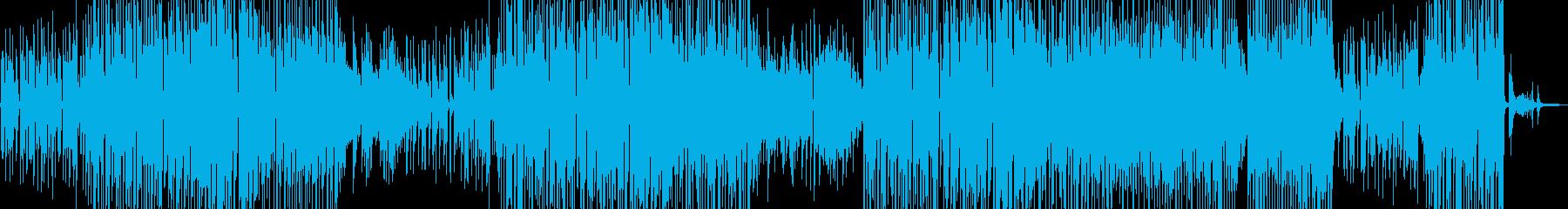 シャイな雰囲気・ほんわかしたジャズ 長尺の再生済みの波形