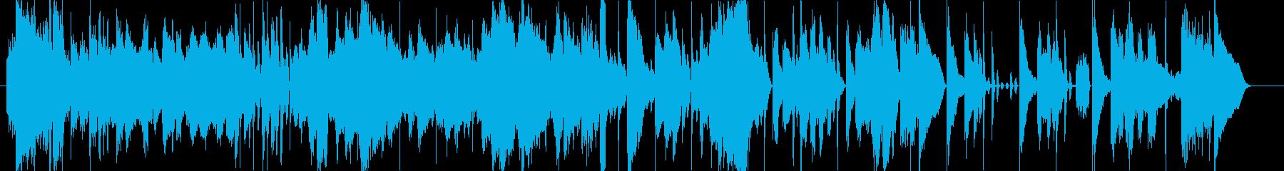 気まぐれな気分での奇怪なオーケスト...の再生済みの波形