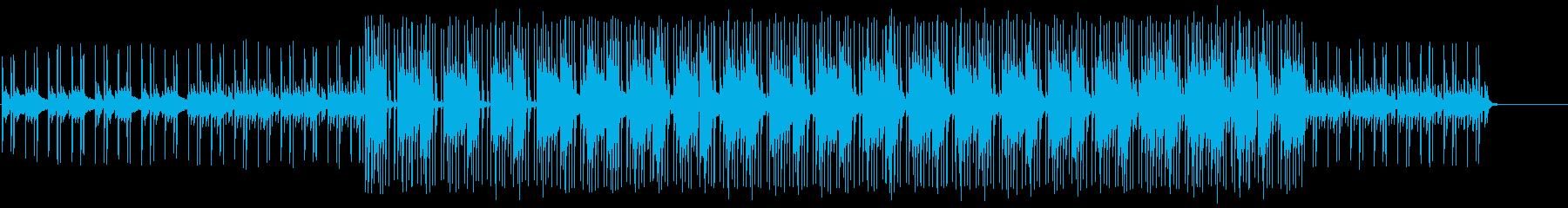 クイズコーナー向けの軽妙なコミカルBGMの再生済みの波形