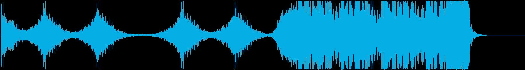 宇宙系トレーラーの再生済みの波形