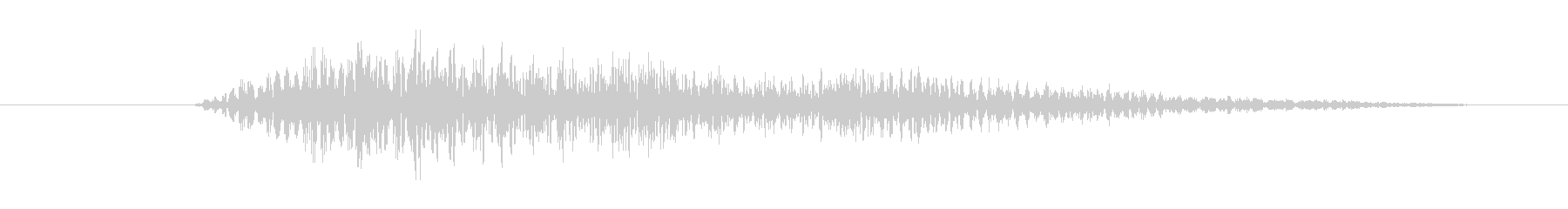 FX アラーム01の未再生の波形