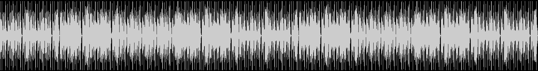 特徴的なリズムのキラキラシンセポップの未再生の波形