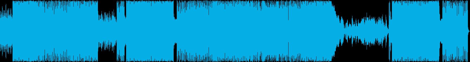 シンセ入りメロコアの再生済みの波形