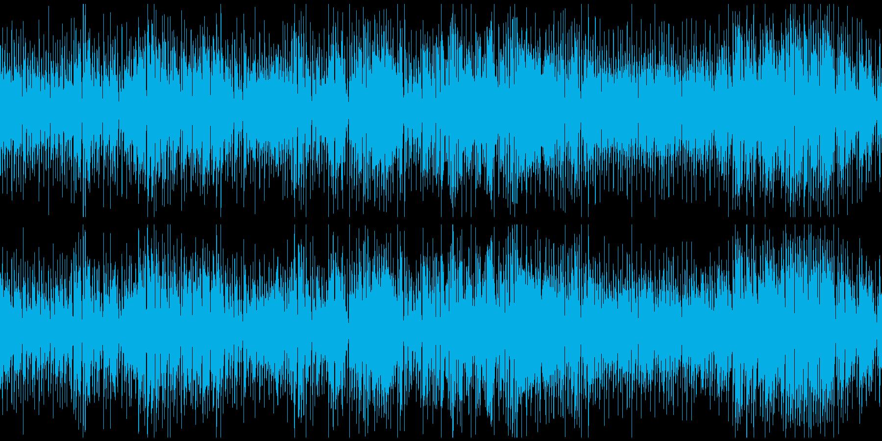 楽しいマヌーシュジャズ ※ループ仕様版の再生済みの波形