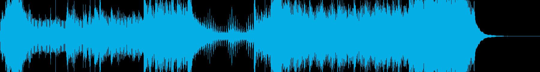 スカリズムによるお洒落なジングルの再生済みの波形