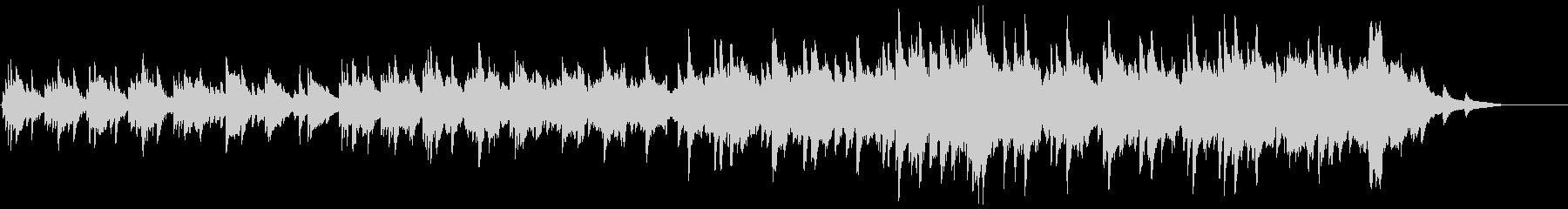 ファミリエの未再生の波形