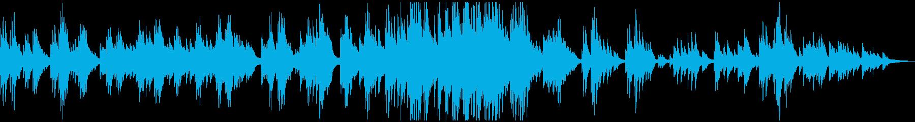 ドラマティック・思い出・感動的 ピアノの再生済みの波形