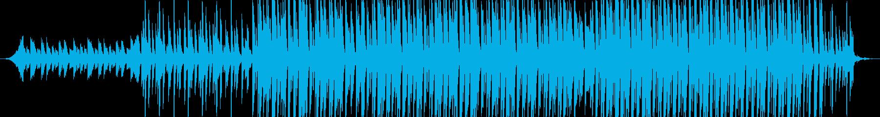 ピアノフレーズが印象的な哀愁のあるEDMの再生済みの波形