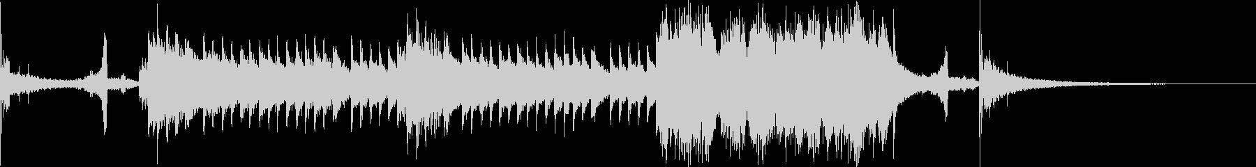 ジングル 約30秒 和風 琴の未再生の波形