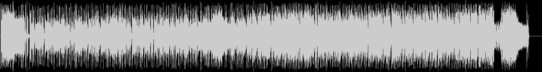 かわいい キラキラのポップインストの未再生の波形