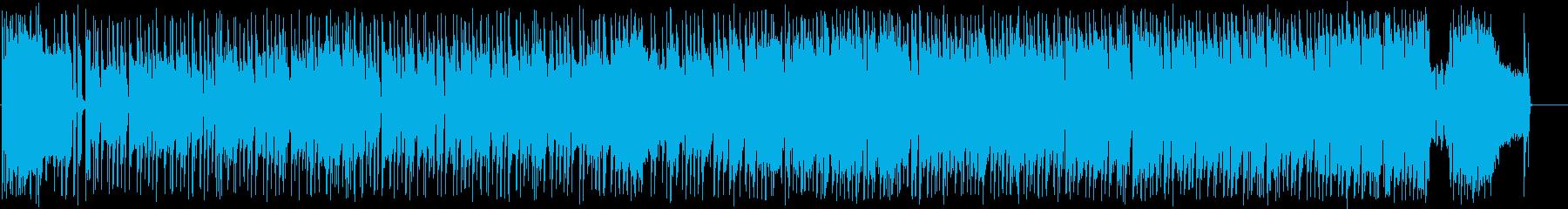 かわいい キラキラのポップインストの再生済みの波形