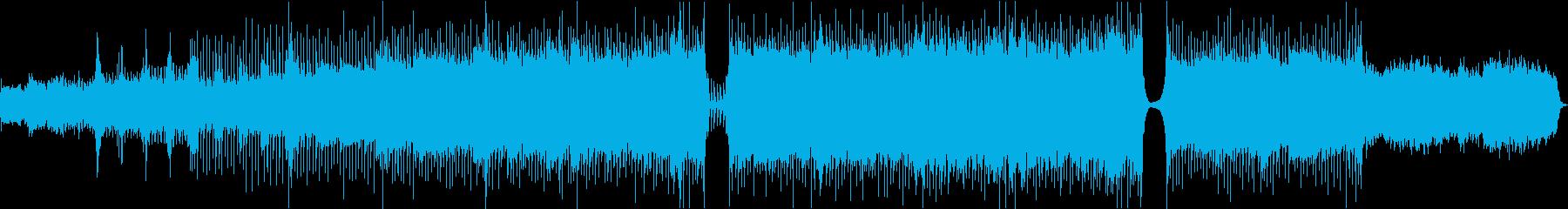 ワクワク感のあるポップスオーケストラ曲の再生済みの波形