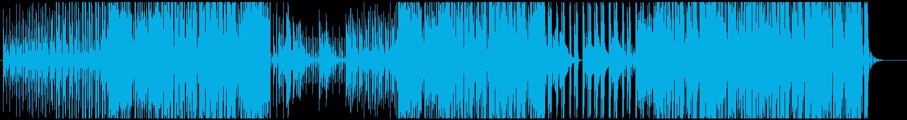 【生アコギ】気持ち良いトロピカルハウスの再生済みの波形