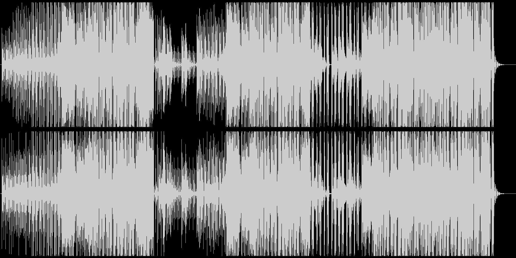 【生アコギ】気持ち良いトロピカルハウスの未再生の波形