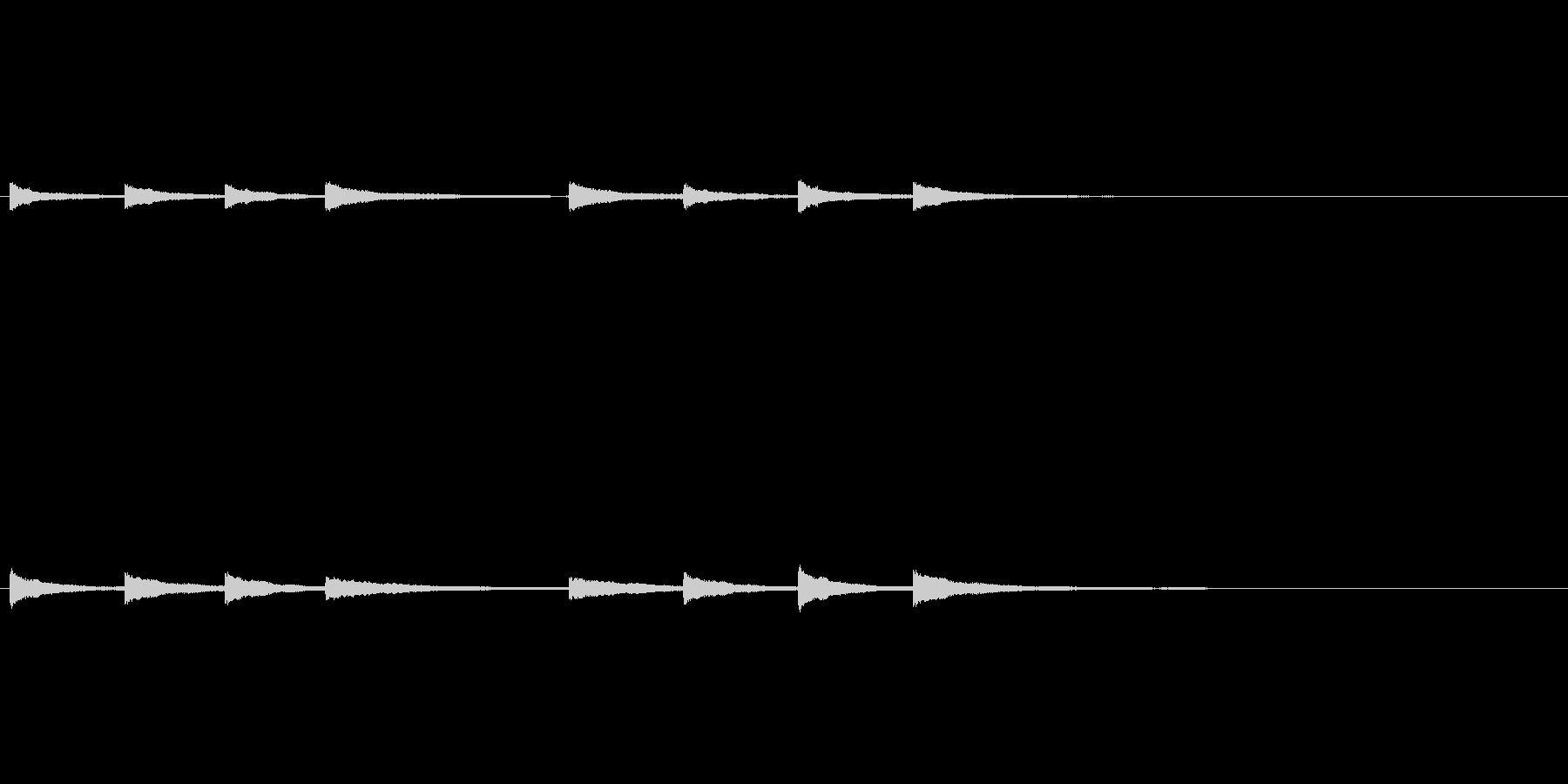 「キンコンカンコンコンキンコンカン 鐘」の未再生の波形