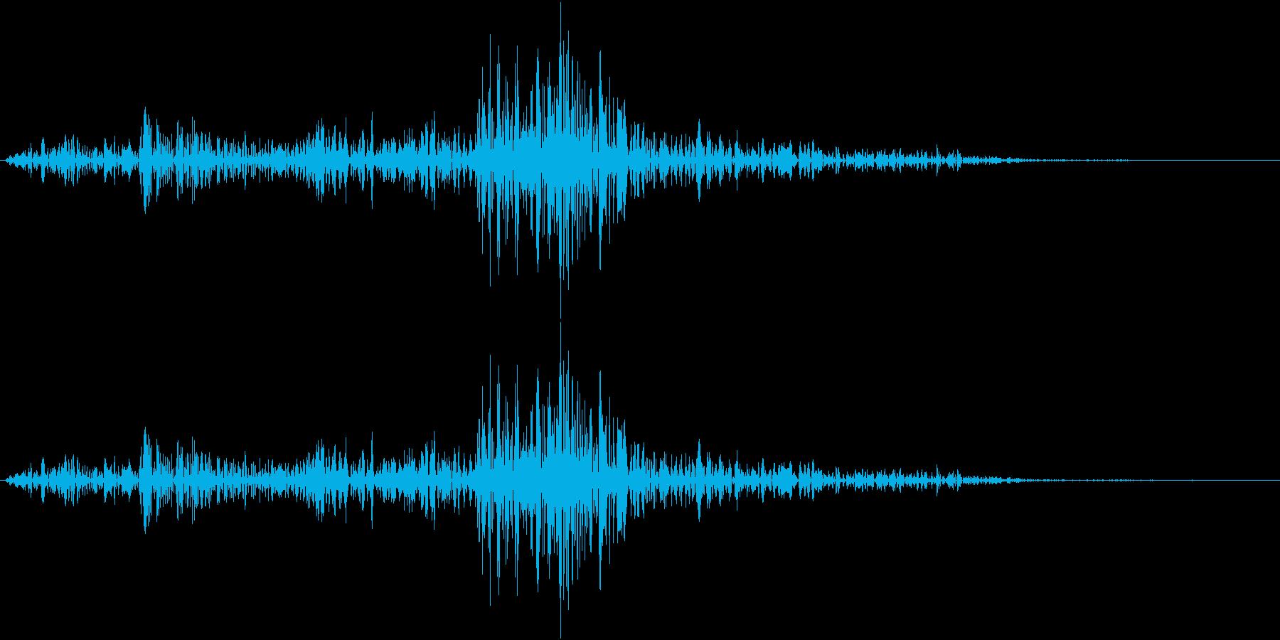 Lighter ライターの音 ジッ 2の再生済みの波形