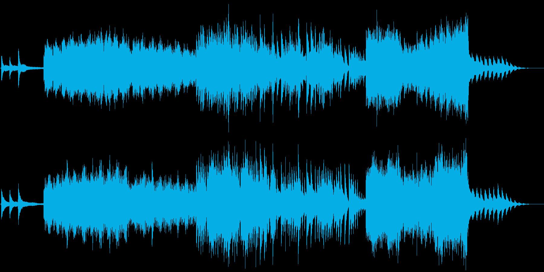 感動的なオーケストラの再生済みの波形