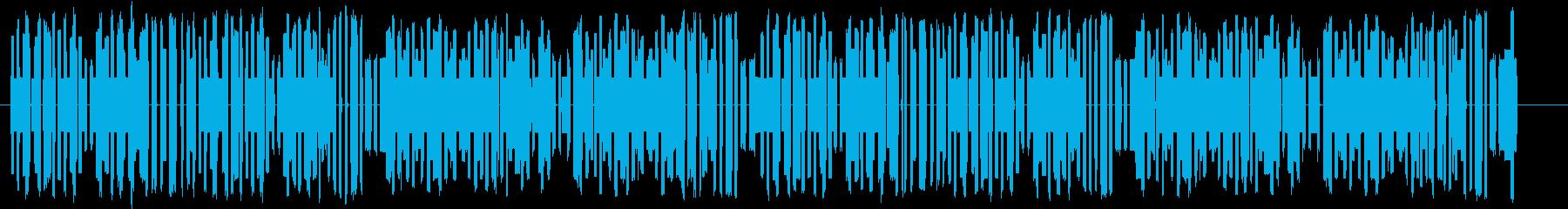 明るく楽しい8bitサンバの再生済みの波形