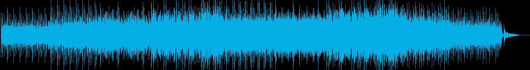 [弦あり]シンプルで洗練された雰囲気の曲の再生済みの波形