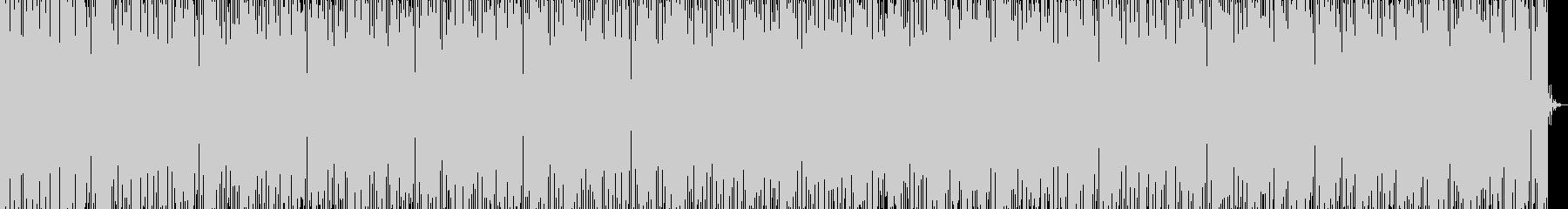 BPM120ハウス報道番組の未再生の波形