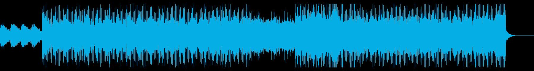 企業VP・爽やか・エレキギター・クールの再生済みの波形